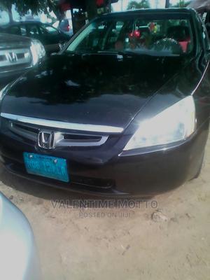 Honda Accord 2005 Automatic Black   Cars for sale in Lagos State, Amuwo-Odofin