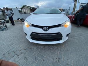 Toyota Corolla 2015 White   Cars for sale in Lagos State, Surulere