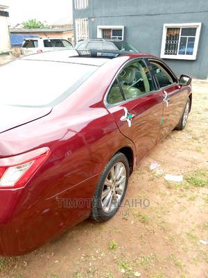 Lexus ES 2008 350 Red | Cars for sale in Edo State, Benin City