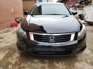Honda Accord 2008 2.4 EX Black | Cars for sale in Lagos State, Isolo