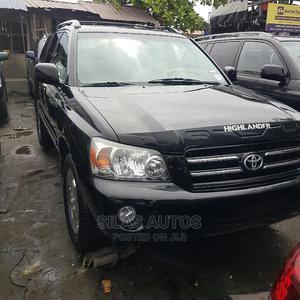 Toyota Highlander 2006 Limited V6 Black | Cars for sale in Lagos State, Apapa