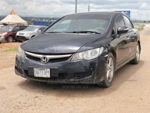Honda Civic 2007 1.8i-Vtec EXi Automatic Black   Cars for sale in Abuja (FCT) State, Lugbe District