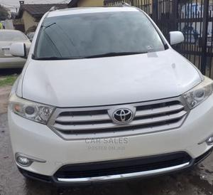 Toyota Highlander 2012 Limited White   Cars for sale in Lagos State, Surulere
