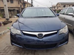 Honda Civic 2006 1.8i-Vtec EXi Automatic Blue   Cars for sale in Lagos State, Ogudu