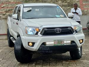 Toyota Tacoma 2012 Access Cab V6 Automatic White   Cars for sale in Lagos State, Ikeja