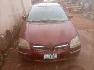 Nissan Almera 2002 Tino Red   Cars for sale in Ogun State, Ado-Odo/Ota