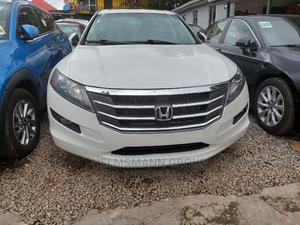 Honda Accord Crosstour 2011 EX-L AWD White   Cars for sale in Lagos State, Ikeja