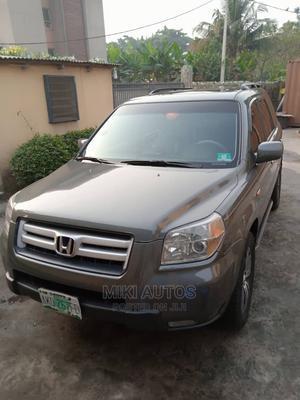 Honda Pilot 2007 EX-L 4x4 (3.5L 6cyl 5A) Brown | Cars for sale in Lagos State, Amuwo-Odofin