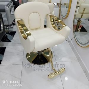Executive Cream Barber Chair | Salon Equipment for sale in Lagos State, Yaba