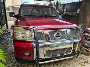 Nissan Armada 2006 4x4 LE Red | Cars for sale in Abuja (FCT) State, Asokoro