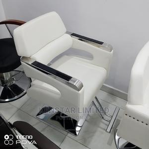 White Barber/Salon Chair | Salon Equipment for sale in Lagos State, Yaba