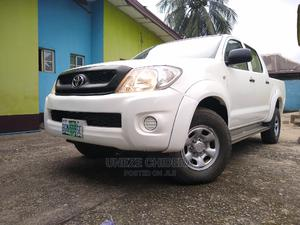 Toyota Hilux 2010 2.5 D-4D 4X4 SRX White   Cars for sale in Rivers State, Port-Harcourt