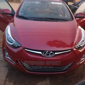 Hyundai Elantra 2014 Red   Cars for sale in Abuja (FCT) State, Lugbe District