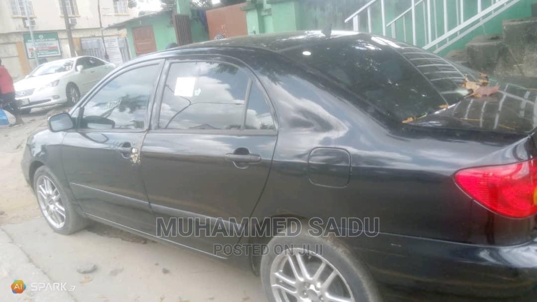 Toyota Corolla 2003 Sedan Automatic Black | Cars for sale in Surulere, Lagos State, Nigeria