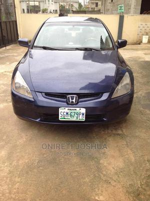 Honda Accord 2005 Sedan LX V6 Automatic Blue | Cars for sale in Ogun State, Obafemi-Owode