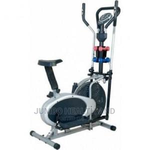 Multistation Orbitrac Bike Userweight 100kg With Dumbbells | Sports Equipment for sale in Abuja (FCT) State, Wuse 2