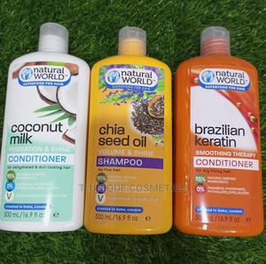 Nature World Super Food for Hair Conditioner Shampoo | Hair Beauty for sale in Lagos State, Ikorodu