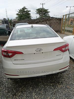 Hyundai Sonata 2015 White | Cars for sale in Lagos State, Abule Egba