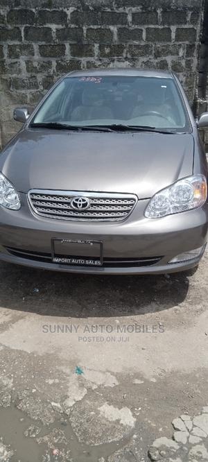 Toyota Corolla 2007 1.6 VVT-i Gray | Cars for sale in Lagos State, Apapa