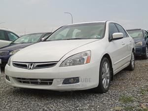 Honda Accord 2007 Sedan EX-L V-6 Automatic White   Cars for sale in Abuja (FCT) State, Lokogoma