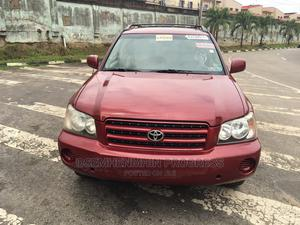Toyota Highlander 2004 V6 AWD Red   Cars for sale in Lagos State, Ogba
