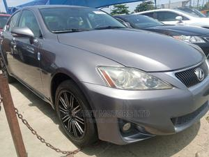 Lexus IS 2012 250 AWD Automatic Gray | Cars for sale in Lagos State, Apapa