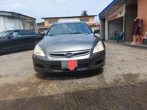 Honda Accord 2007 2.4 Exec Gray   Cars for sale in Lagos State, Ilupeju