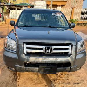 Honda Pilot 2007 EX-L 4x4 (3.5L 6cyl 5A) Gray | Cars for sale in Lagos State, Alimosho