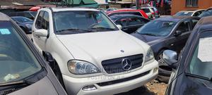 Mercedes-Benz M Class 2003 ML 320 White | Cars for sale in Lagos State, Surulere