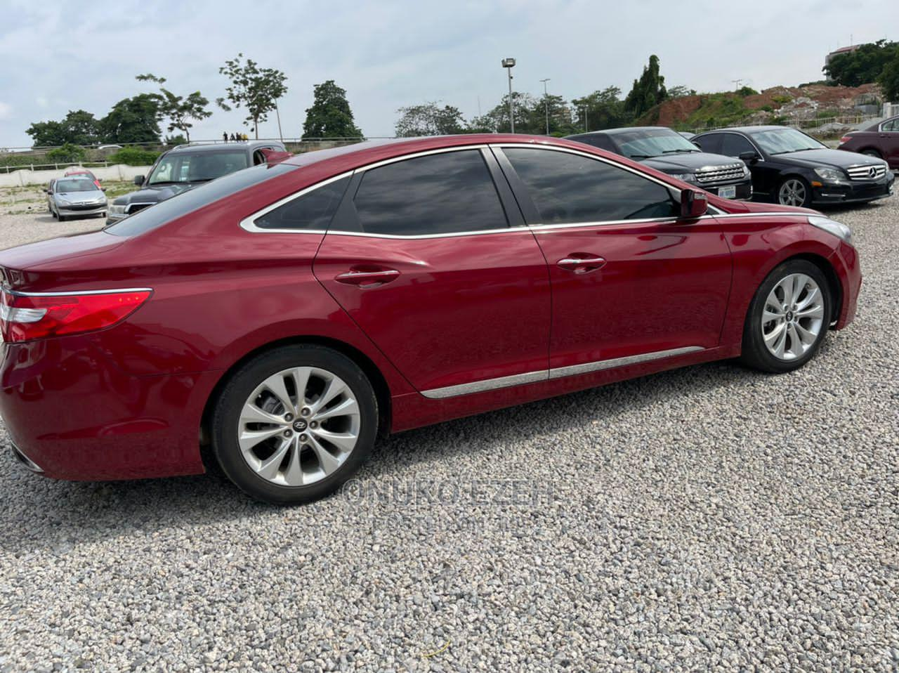 Hyundai Azera 2016 Limited Red | Cars for sale in Central Business District, Abuja (FCT) State, Nigeria