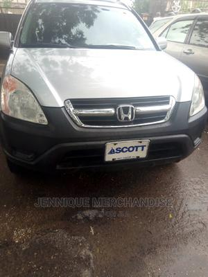 Honda CR-V 2003 EX 4WD Automatic Silver   Cars for sale in Lagos State, Amuwo-Odofin