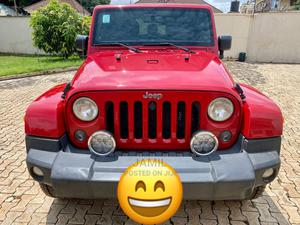 Jeep Wrangler 2013 Red   Cars for sale in Abuja (FCT) State, Kubwa