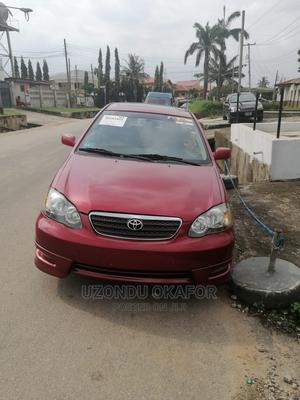 Toyota Corolla 2007 S Red | Cars for sale in Lagos State, Gbagada