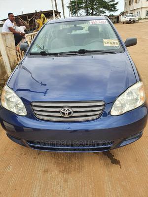 Toyota Corolla 2003 Sedan Blue | Cars for sale in Lagos State, Ikorodu