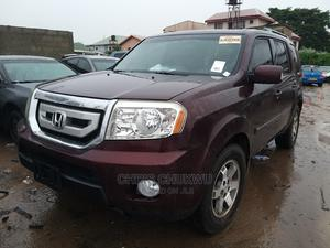 Honda Pilot 2011 Burgandy | Cars for sale in Lagos State, Isolo