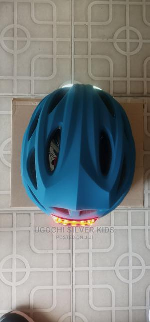 Skate Helmet With Front and Back Light | Sports Equipment for sale in Lagos State, Surulere