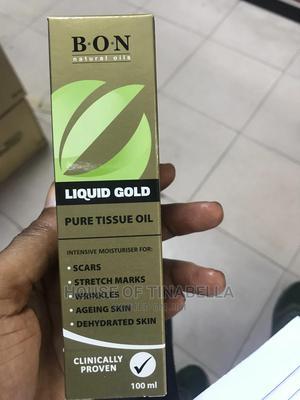 Liquid Gold Strech Mark Remover Tissue Oil | Skin Care for sale in Lagos State, Amuwo-Odofin