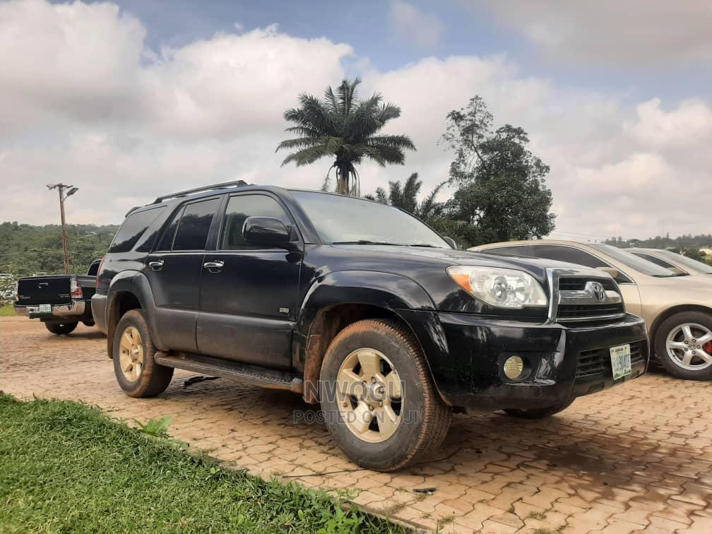 Toyota 4-Runner 2006 Limited 4x4 V6 Black | Cars for sale in Galadimawa, Abuja (FCT) State, Nigeria