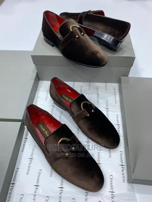 High Quality CESARE PACIOTTI Italian Suedebrown Loafers | Shoes for sale in Abuja (FCT) State, Asokoro