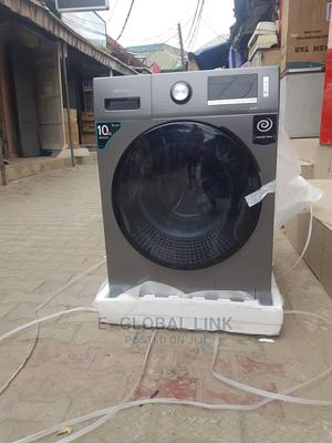 Hisense 10kg Inverter Washing Machine With Dryer   Home Appliances for sale in Lagos State, Victoria Island