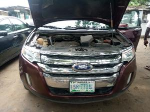 Ford Edge 2012 SE 4dr FWD (3.5L 6cyl 6A) Red | Cars for sale in Lagos State, Alimosho