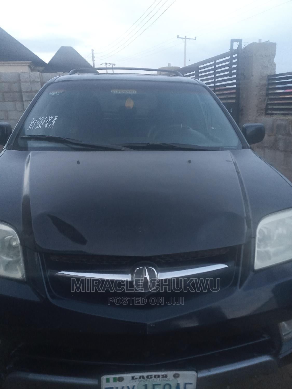 Acura MDX 2004 Black