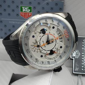 High Quality TAG Heuer Black Rubber Band Watch for Men   Watches for sale in Abuja (FCT) State, Asokoro