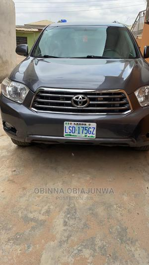 Toyota Highlander 2008 Limited 4x4 Gray | Cars for sale in Lagos State, Ipaja