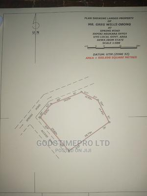 Land Available for Sale at Epri Nsukara Road Off Nwaniba,Uyo | Land & Plots For Sale for sale in Akwa Ibom State, Uyo