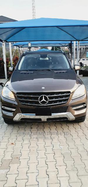 Mercedes-Benz M Class 2013 Brown | Cars for sale in Lagos State, Lekki