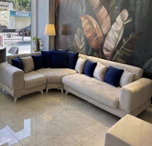 Corner King an Ottoman   Furniture for sale in Lagos State, Lekki