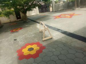Local Concrete Stamp Floor Design   Building Materials for sale in Oyo State, Oluyole