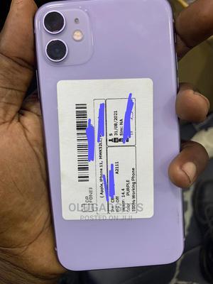 Apple iPhone 11 128 GB Purple   Mobile Phones for sale in Lagos State, Ikeja