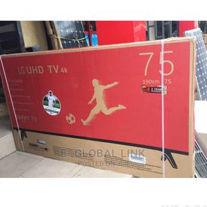 LG 75 Inches Smart Television (4k Picture Resolution) | TV & DVD Equipment for sale in Lagos State, Lekki